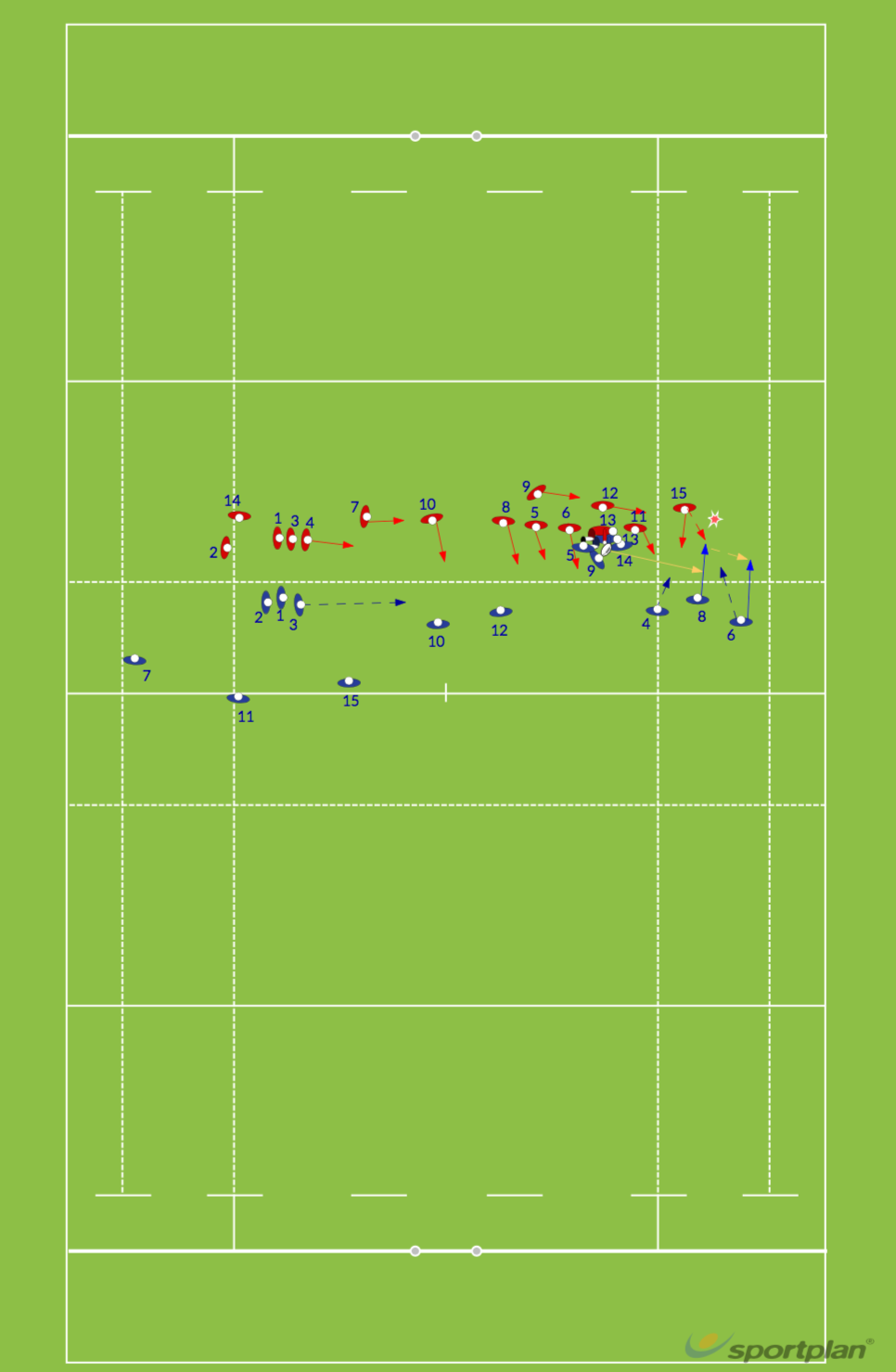 WALLABY 2Match RelatedRugby Drills Coaching