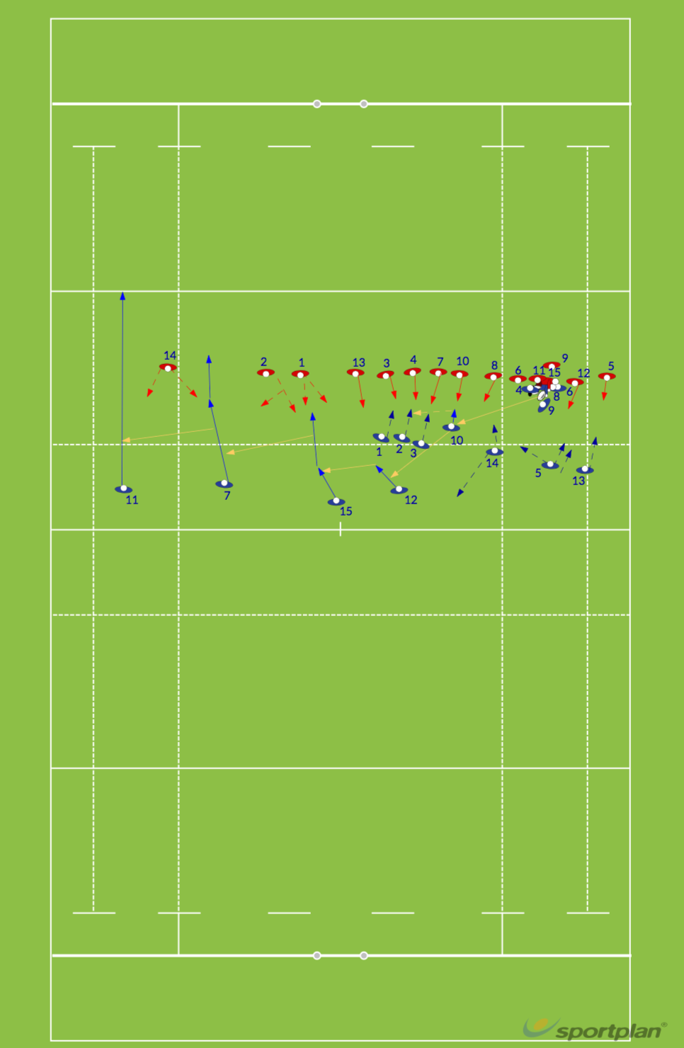 WALLABY 3Match RelatedRugby Drills Coaching