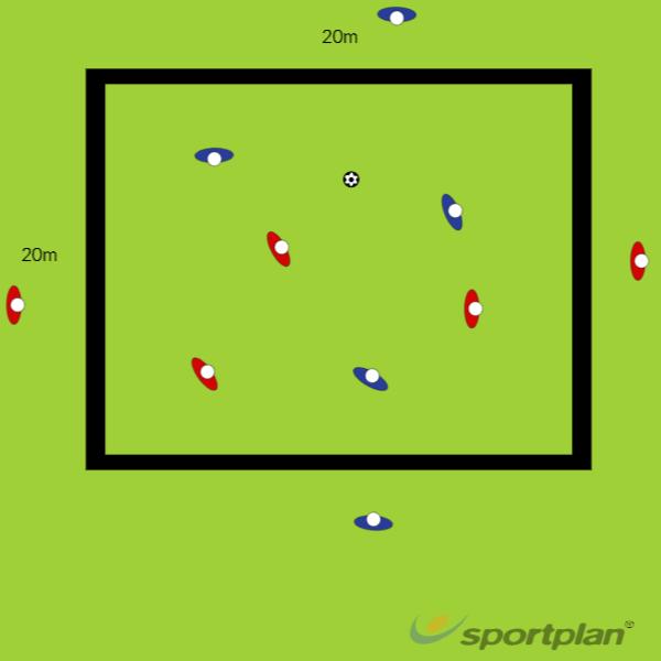 EdgesPassing and ReceivingFootball Drills Coaching