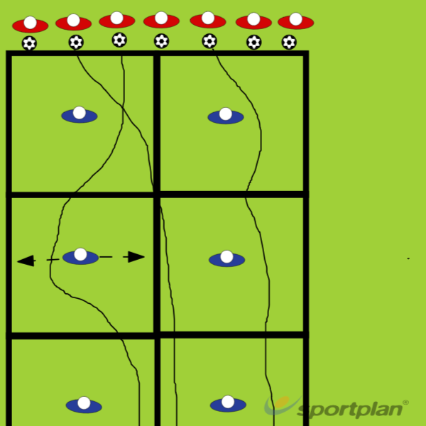 Alien InvasionDribblingFootball Drills Coaching