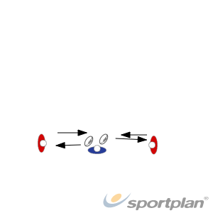one hand Offload drillOff LoadsRugby Drills Coaching