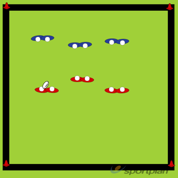 Pairs TagPractices for JuniorsRugby Drills Coaching