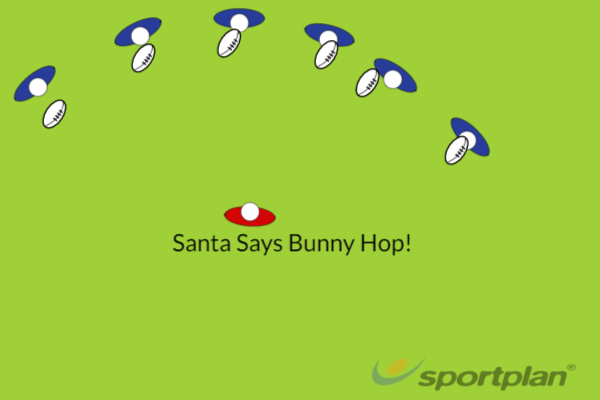 Santa SaysPractices for JuniorsRugby Drills Coaching