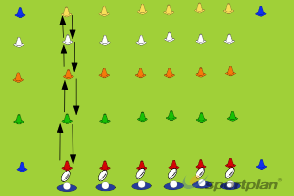 Egg RaceHandlingRugby Drills Coaching
