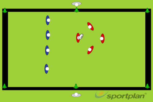 Game 1 - PassingMatch RelatedRugby Drills Coaching