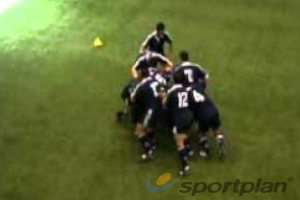 Four Corner Mauling DrillMaulRugby Drills Coaching