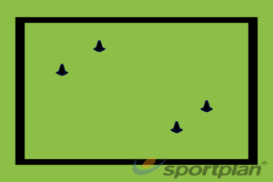 Multi directional small sided gameHockey Drills Coaching
