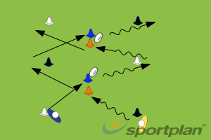 Switch PassPassingRugby Drills Coaching