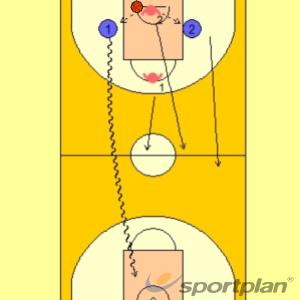 Rombe 12 v 1Basketball Drills Coaching