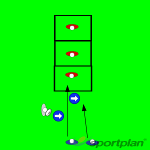 Tunnel Tag 2 v 1Tag RugbyRugby Drills Coaching
