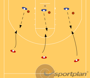 TIRO + REBOTEReboundBasketball Drills Coaching