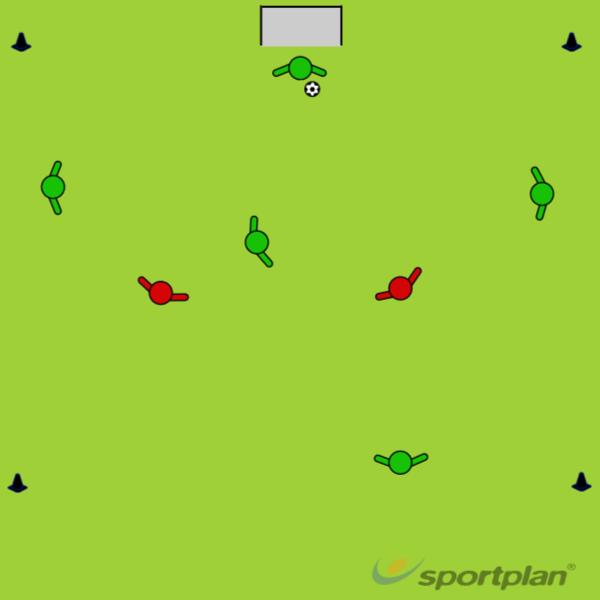 Pallonhallintapeli (Tomi)Football Drills Coaching