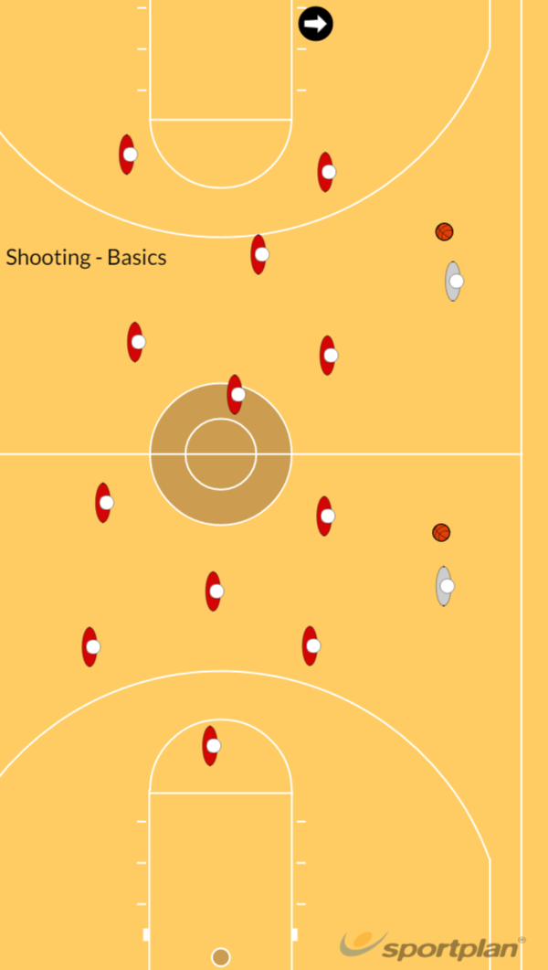 Shooting BasicsShooting TechniquesBasketball Drills Coaching