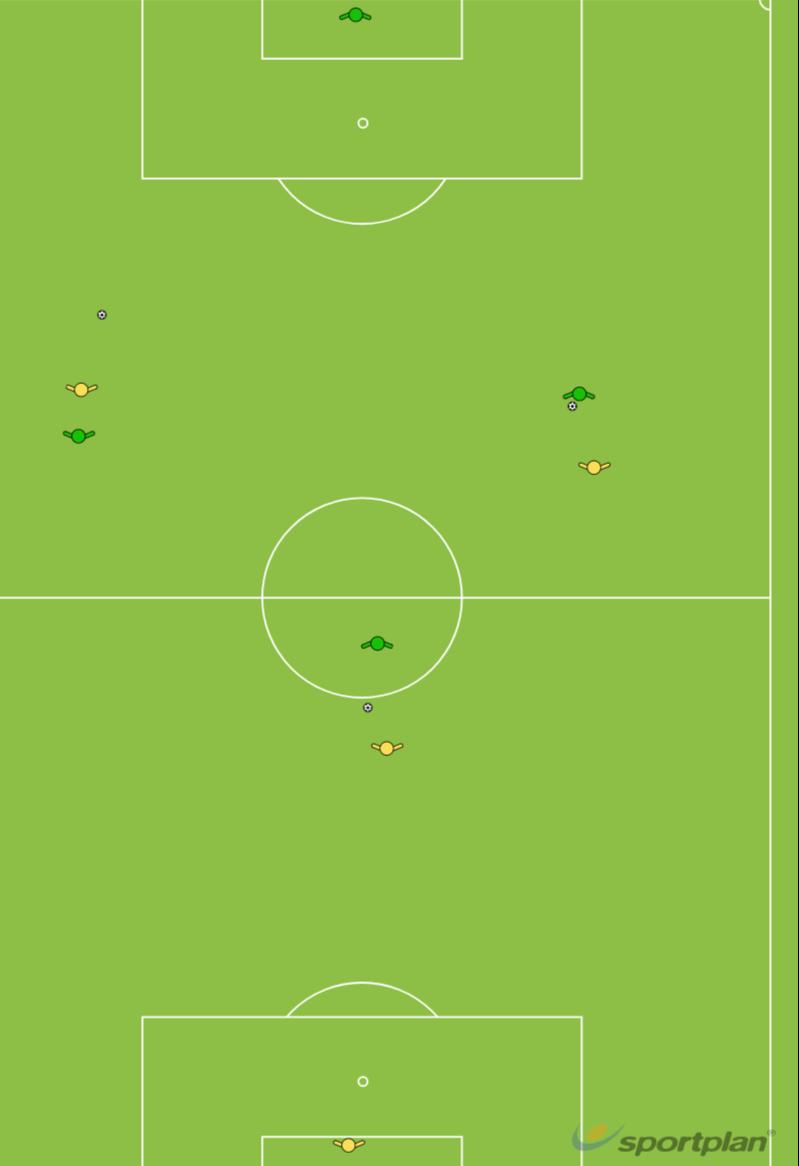 Litti vs MessiFootball Drills Coaching