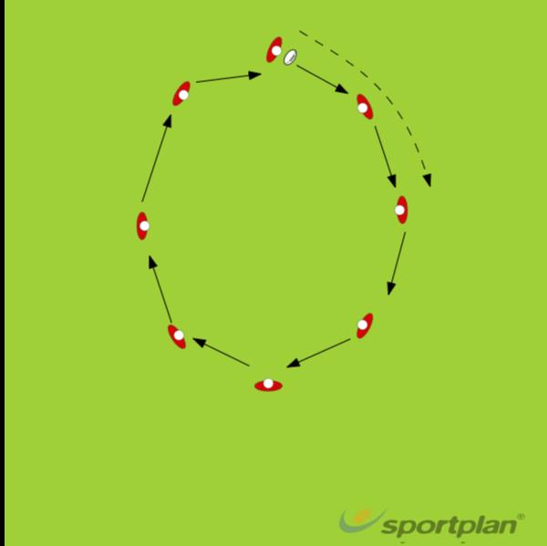 PASSING GAMERugby Drills Coaching