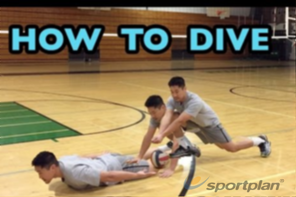 Diving PracticeVolleyball Drills Coaching