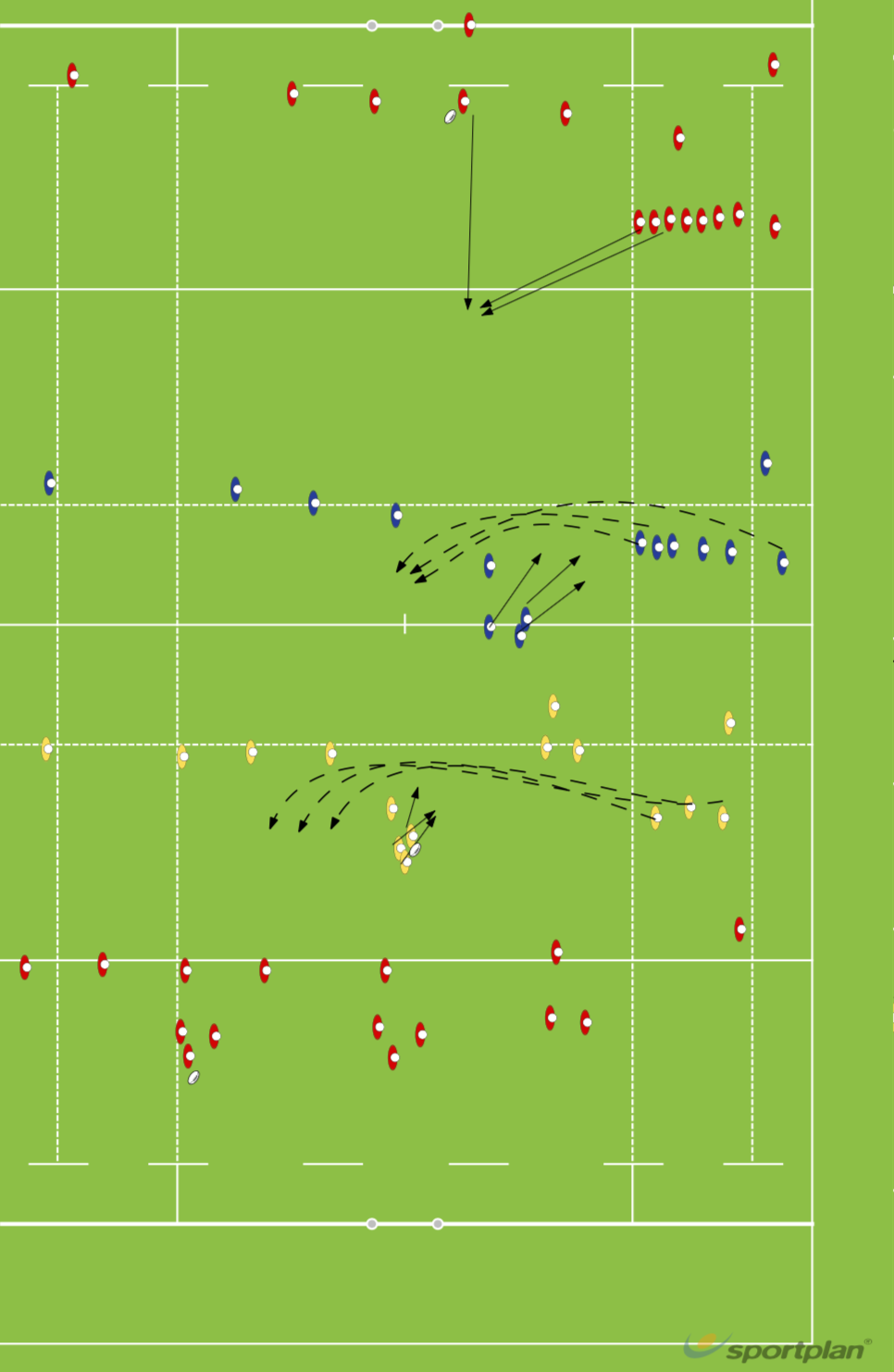 First three phases and structureRugby Drills Coaching