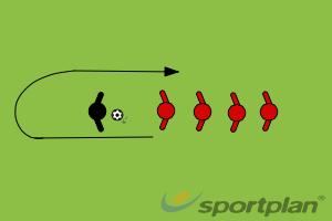 Catch & RunFootball Drills Coaching