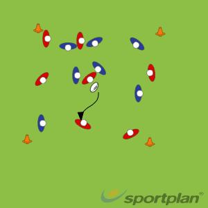 Continuiteits spel- half tackle offload en pasen onder drukOff LoadsRugby Drills Coaching