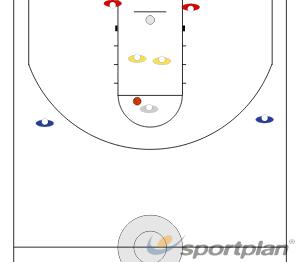 3-1 + 2ReboundBasketball Drills Coaching