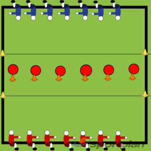 Dodgeball CourtRugby Drills Coaching