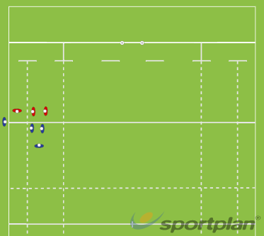 line out 2 vs 2LineoutRugby Drills Coaching