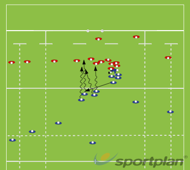 Miss Pass Fringe PlayRugby Drills Coaching