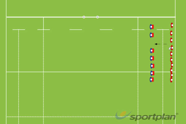 Offload touchOff LoadsRugby Drills Coaching