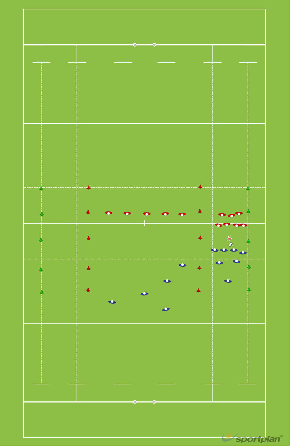Pick'n go + openMatch RelatedRugby Drills Coaching