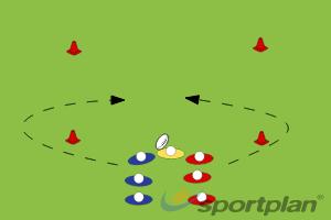 2 - 1vs1 tacklingTacklingRugby Drills Coaching