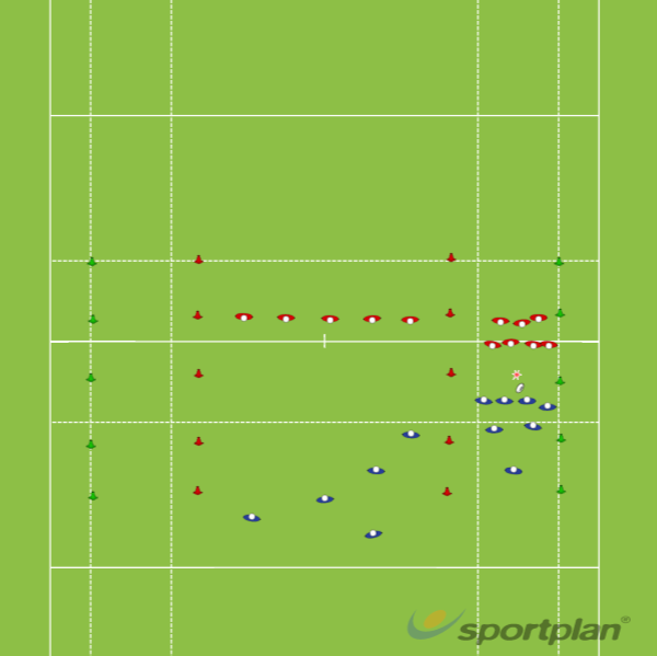 Copy of EX 2 - Pick'n go   openRugby Drills Coaching