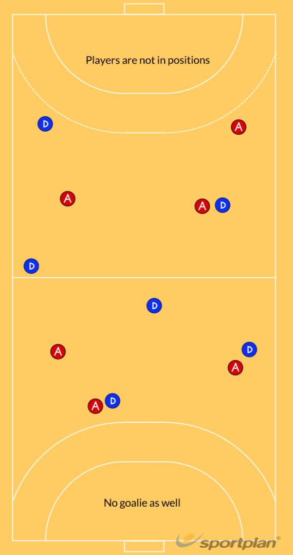 attack and defenceHandball Drills Coaching