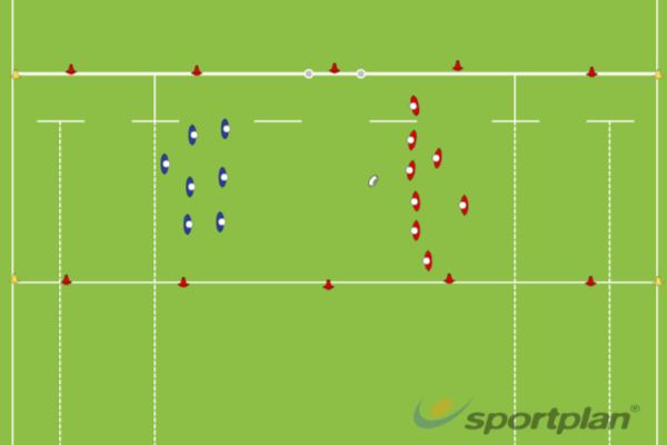 Forwards vs BacksRugby Drills Coaching