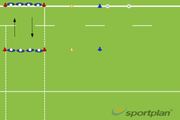 Warm Up Passing DrillPassingRugby Drills Coaching
