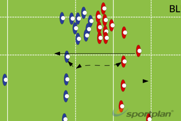 BLUESBacks MovesRugby Drills Coaching