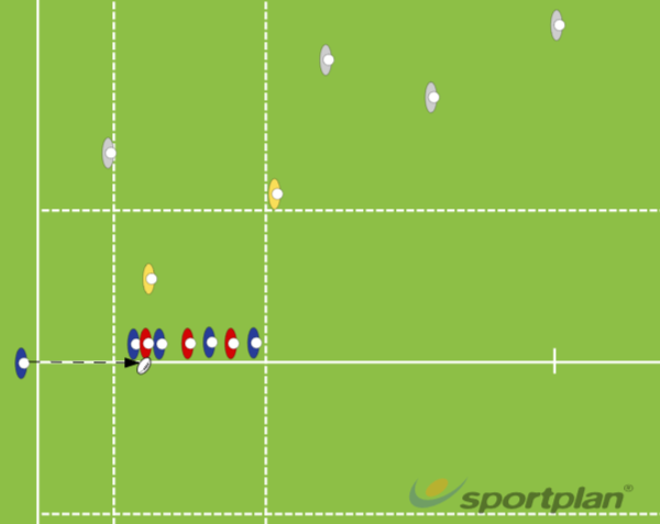 Copy of 7 Person LineoutLineoutRugby Drills Coaching