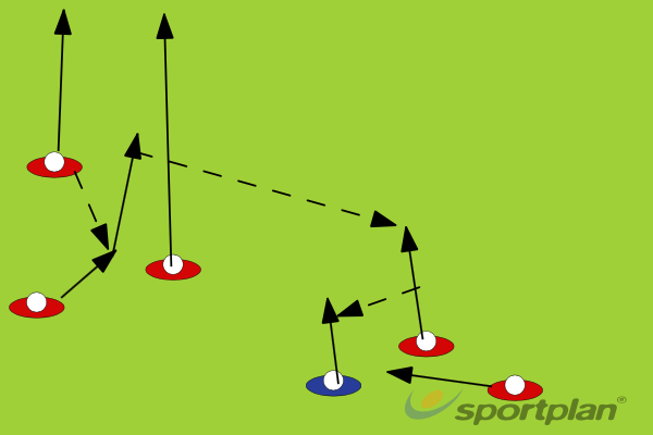 Opposition 22: Play 1Backs MovesRugby Drills Coaching
