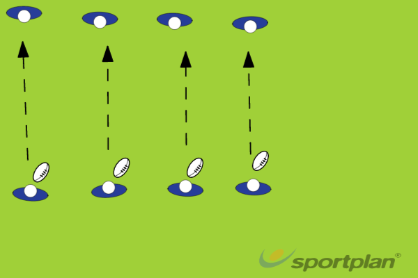 Drill 1- Passing between twoPassingRugby Drills Coaching