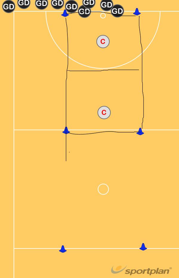touch drillNetball Drills Coaching