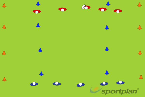 Game - Turnover touchRuckRugby Drills Coaching