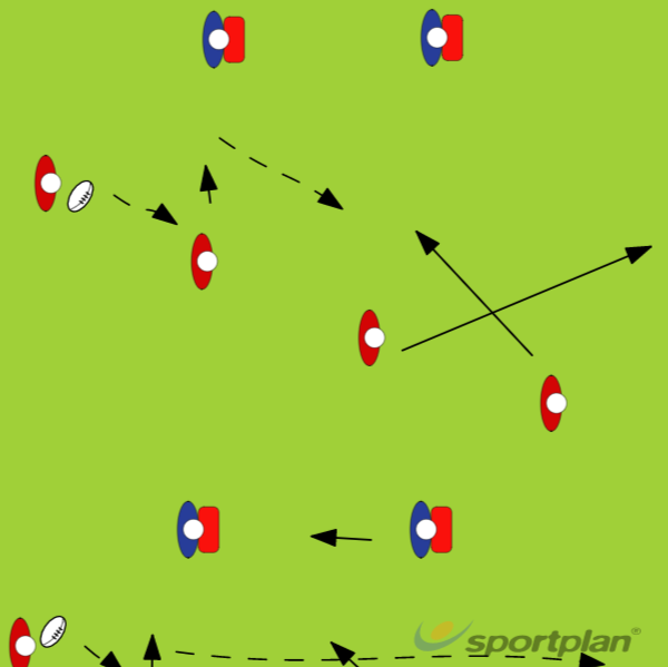 Watch the DefenderTacklingRugby Drills Coaching