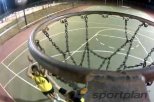 Black Diamonds film Netball Training with a GoProWarm upsNetball Drills Coaching