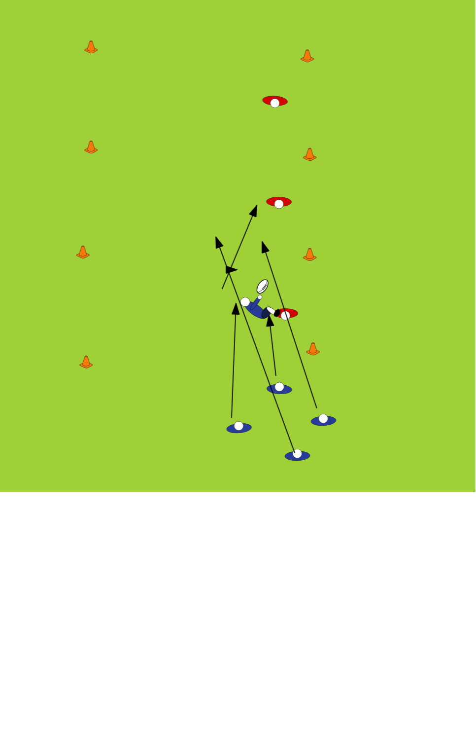 test 5 offloadsOff LoadsRugby Drills Coaching