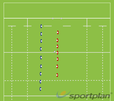 Uneven teams - Ball retentionRuck Clear OutRugby Drills Coaching