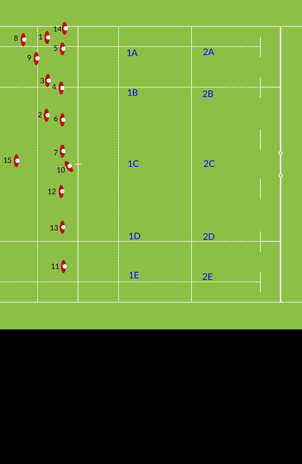 Wanderers FC U13 Kick off RestartRugby Drills Coaching