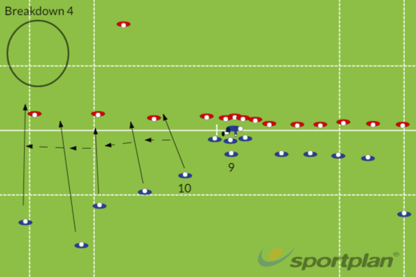 Wing out BD 4Match RelatedRugby Drills Coaching