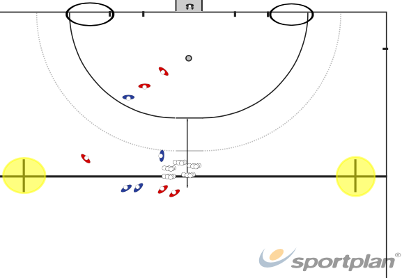 Circle EntryShooting & GoalscoringHockey Drills Coaching