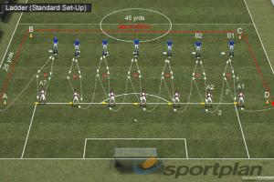 Fitness Ladder (Aerobic)Football Drills Coaching