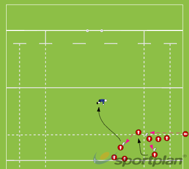 Beast BallLineoutRugby Drills Coaching