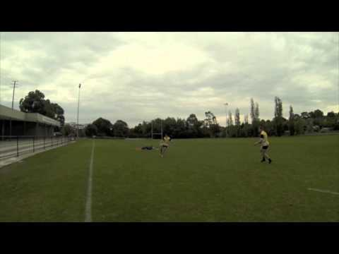 How to chip and chase in rugbyKickingRugby Drills Coaching